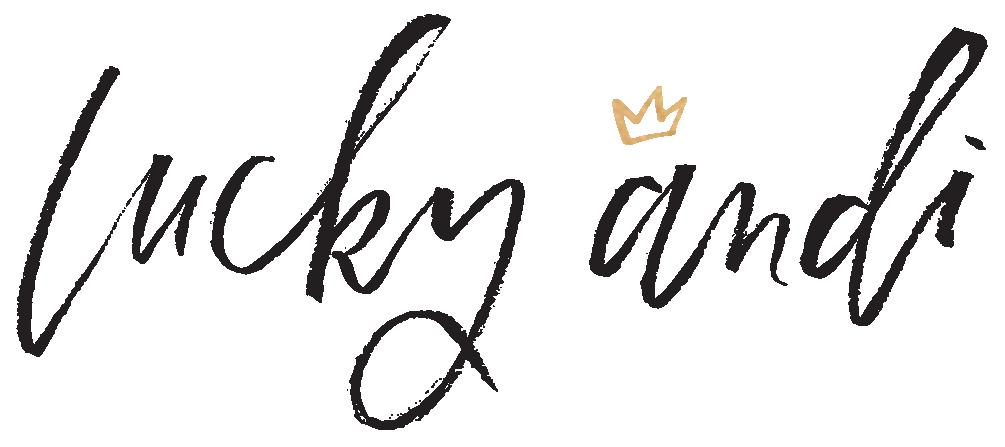 Lucky Andi logo.