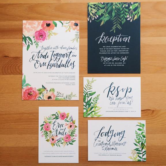 final wedding invites!