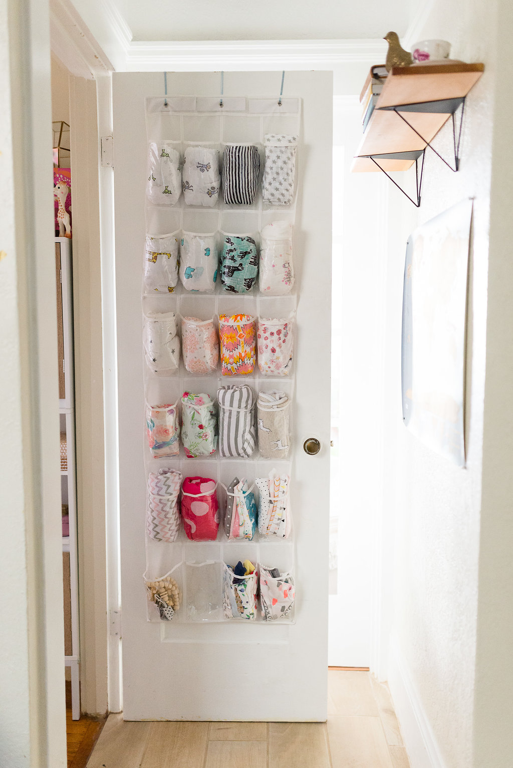 swaddle storage solution + our favorite swaddles