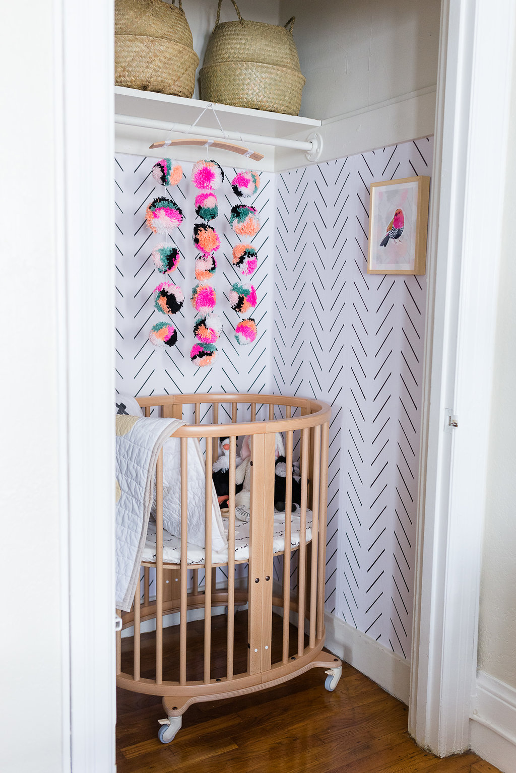 our san francisco closet nursery & small space living with baby tips