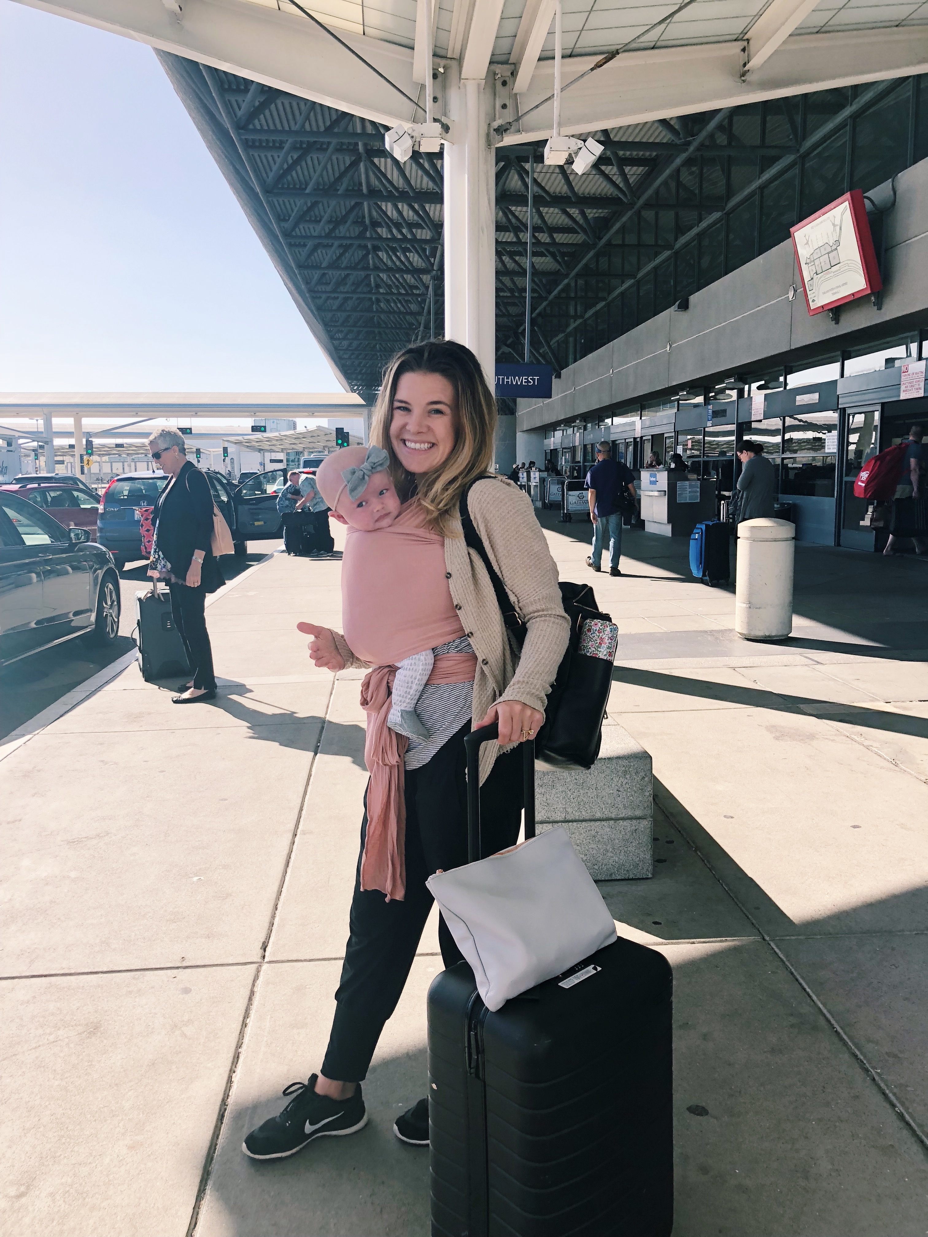 flight tips for traveling with babies and young toddlers