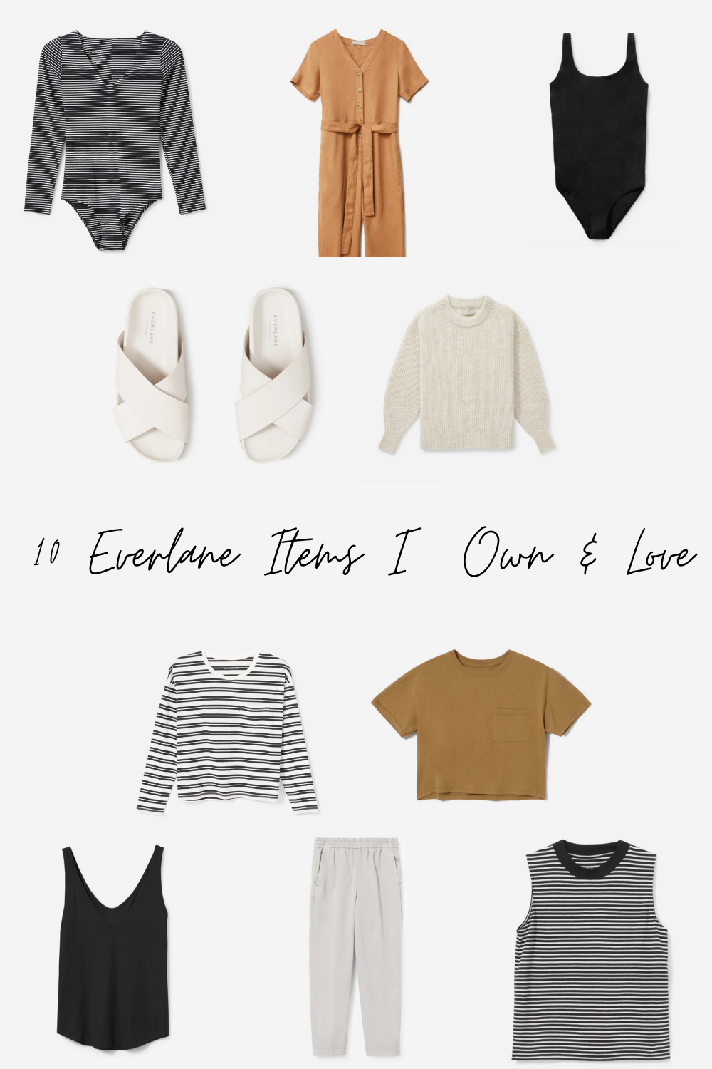 10 everlane items I own and love