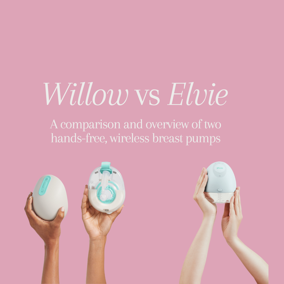 Elvie vs. Willow Breast Pumps