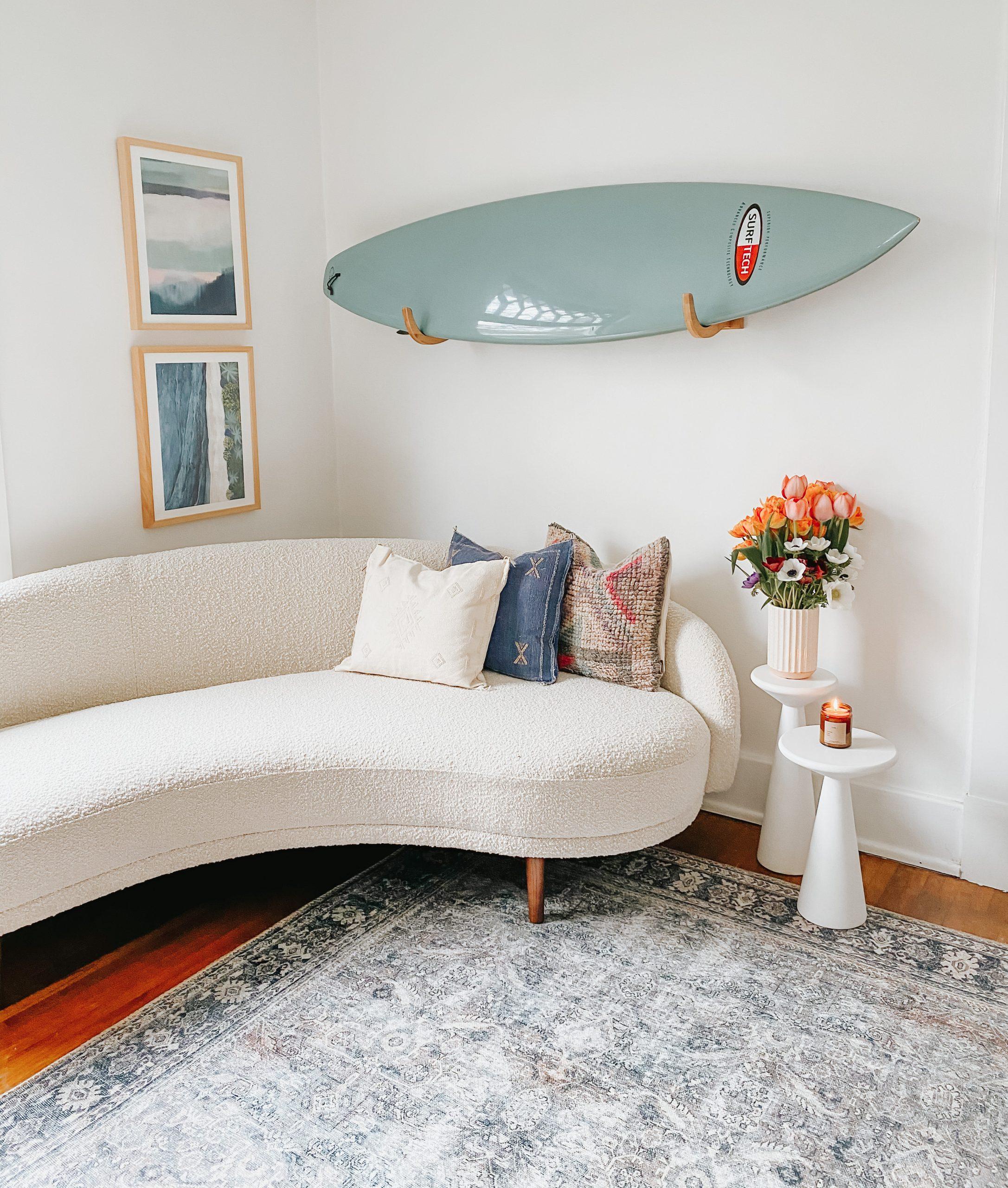 living room corner refresh