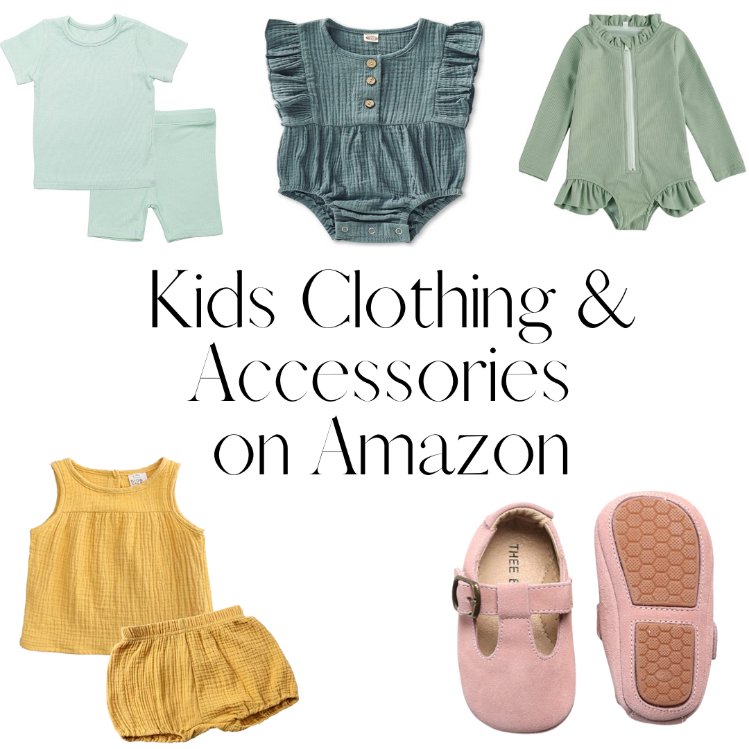 Kids Clothes + Accessories We've Bought from Amazon