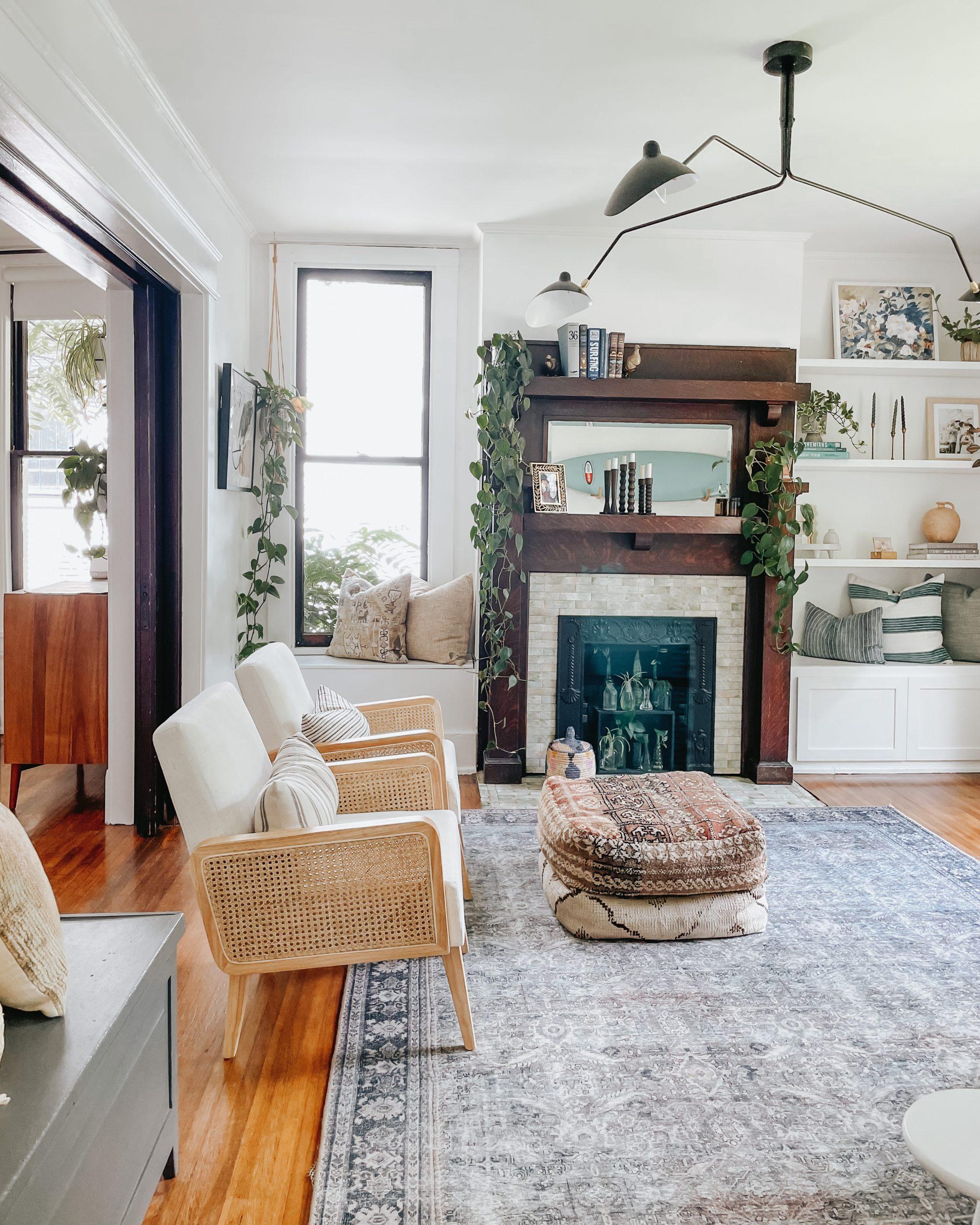 living room refresh with wayfair
